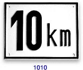 Geschwindigkeitsbegrenzungsschilder